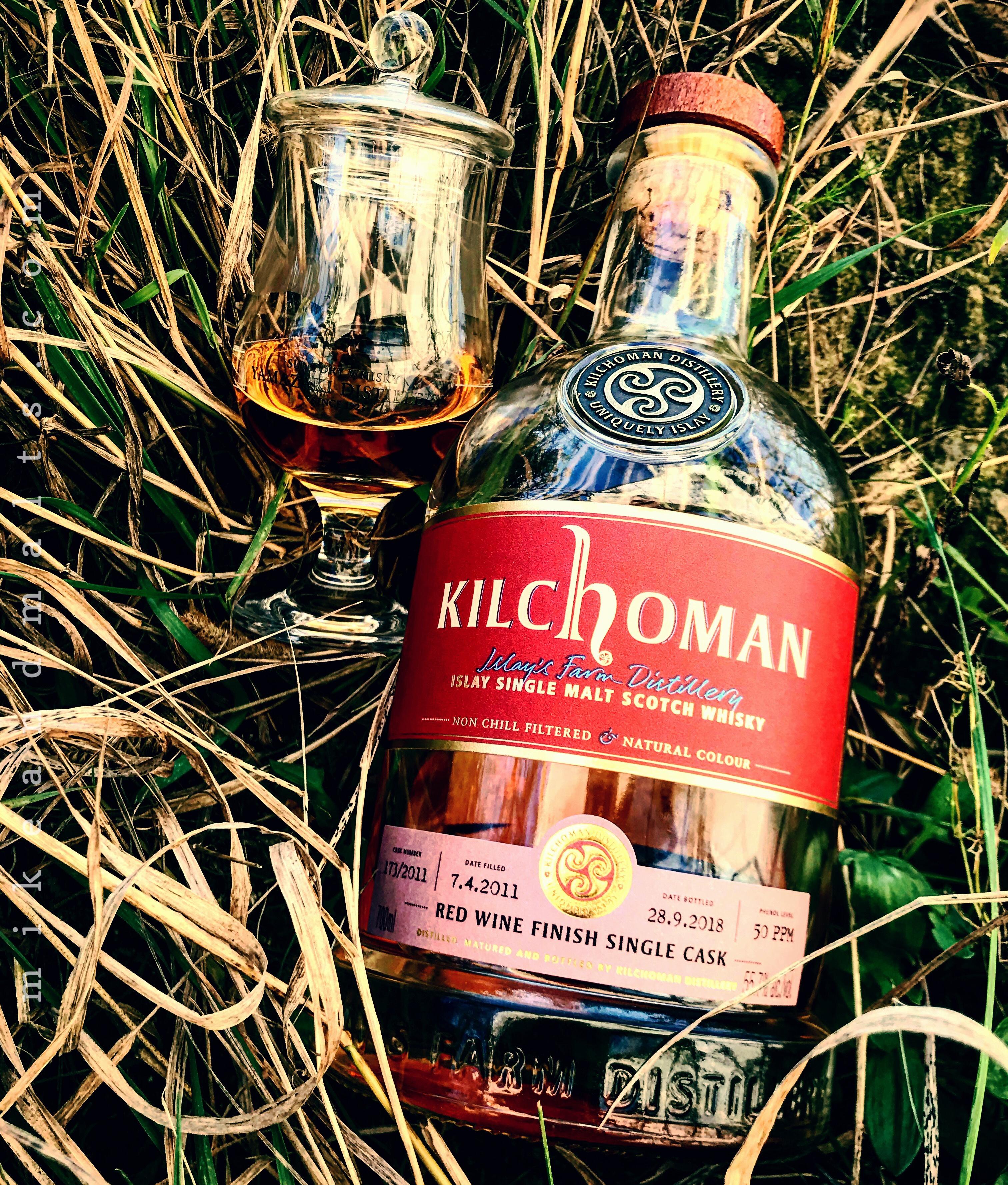 Kilchoman Red Wine